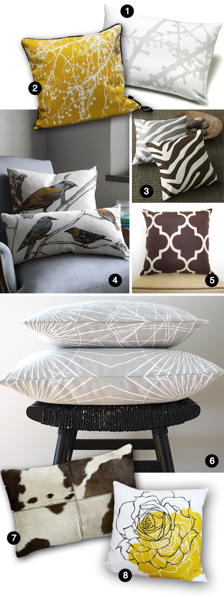Modern Accent Pillows