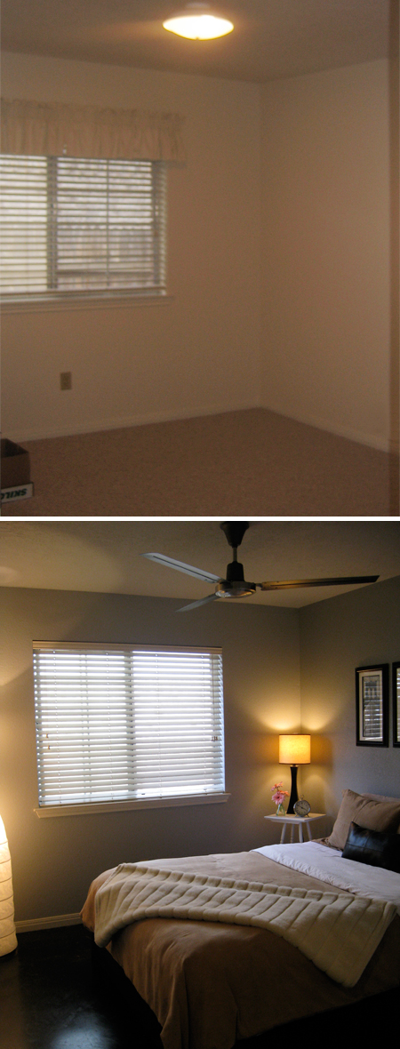 Guest Room: Before & After