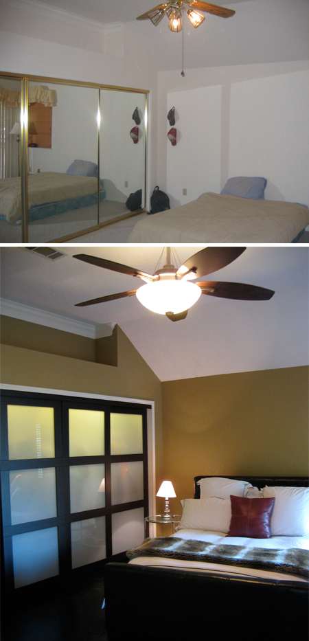 Master Bedroom: Before & After