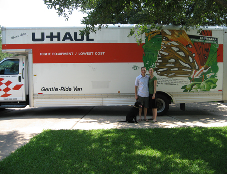 U Haul Finch And Weston into this U-Haul truck