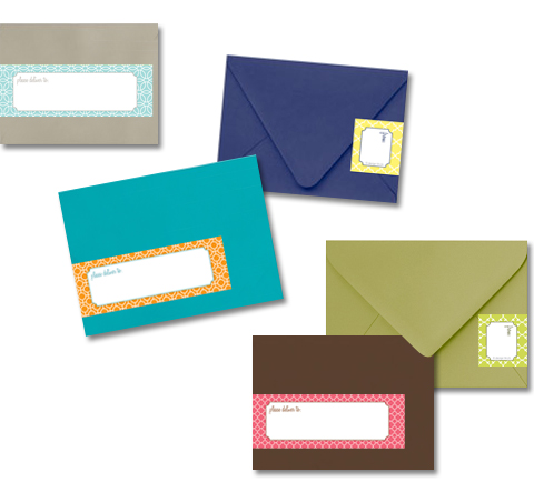 Wrap-around Address Labels