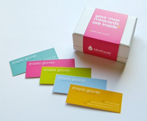 Design Finch Business Cards