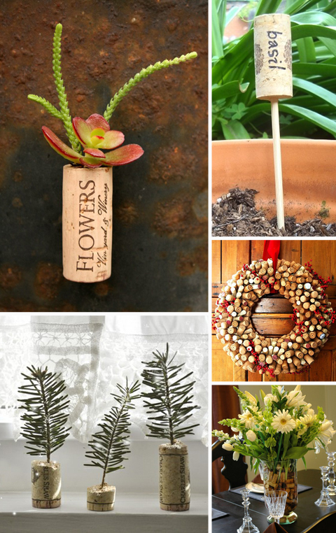 Recycled Wine Cork Projects