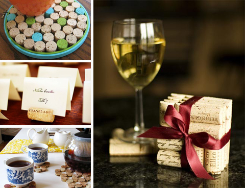 Recycled Wine Cork Gifts