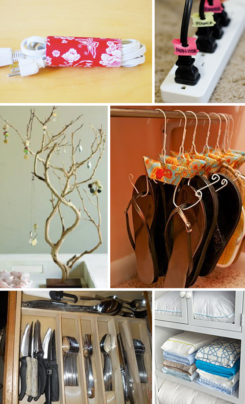 Organize with Free Household Objects
