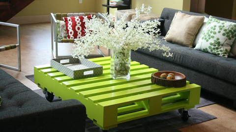 Recycled Shipping Pallet Coffee Table