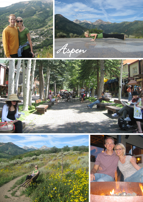 Summer Vacation in Aspen, Colorado