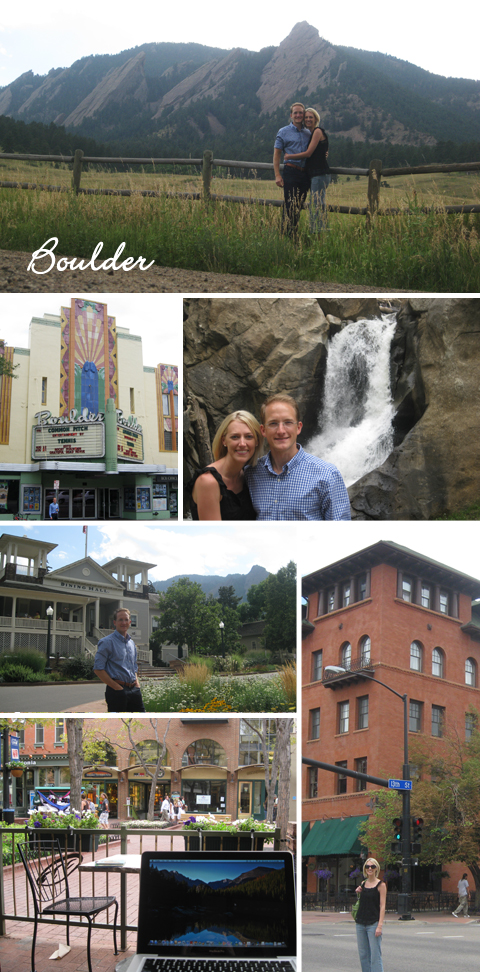 Summer Vacation in Boulder, Colorado