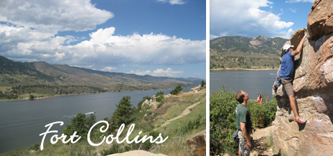 Summer Vacation in Ft. Collins, Colorado