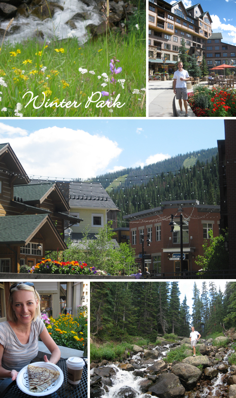 Summer Vacation in Winter Park, Colorado