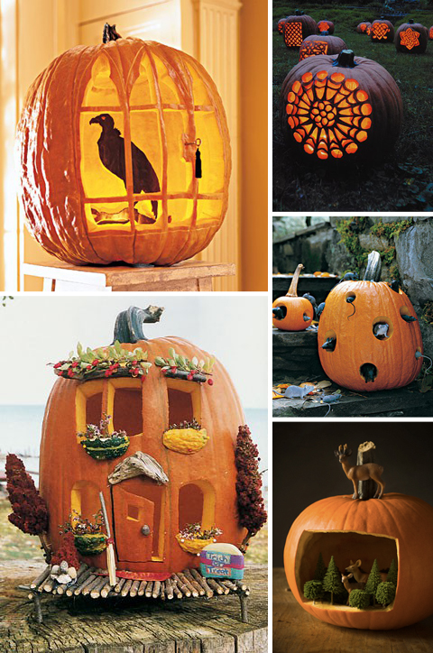 Pumpkin Carving Ideas: Habitats
