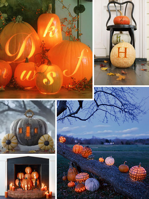 Pumpkin Carving Ideas: Glow