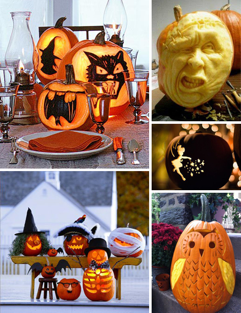 Pumpkin Carving Ideas: Faces