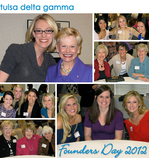 Tulsa Delta Gamma Founders Day 2012