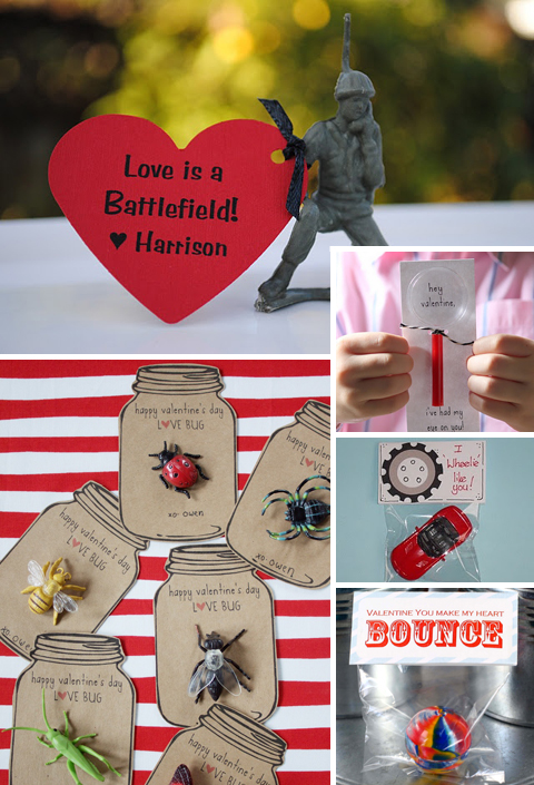 Homemade DIY Valentines