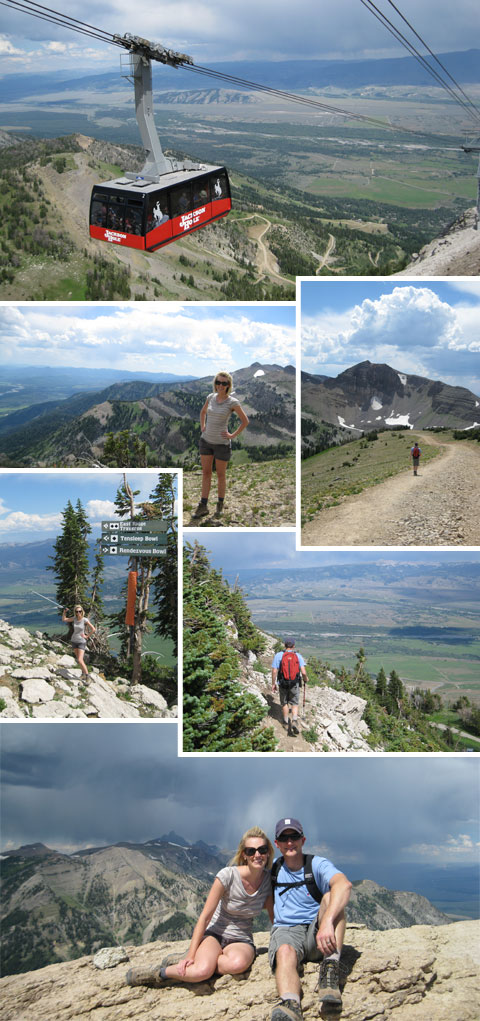 Hiking at Jackson Hole Mountain Resort