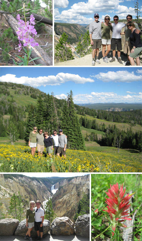 Yellowstone – Hiking in Canyon Area