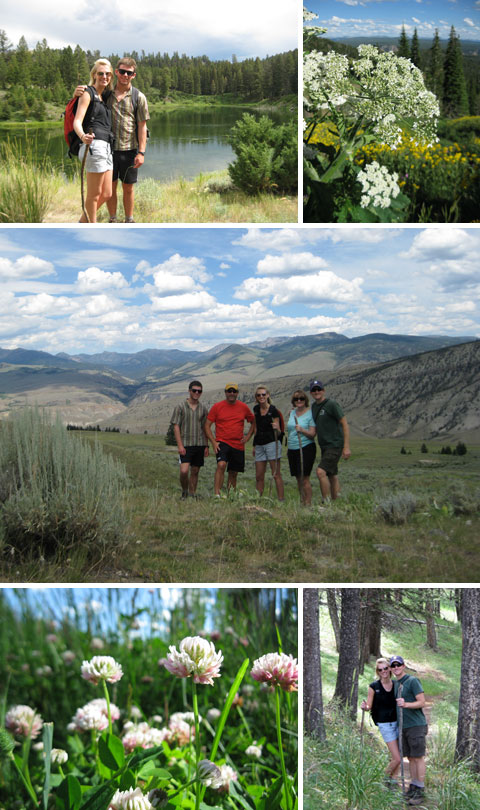 Yellowstone – Hiking in Mammoth Area