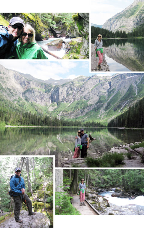 Glacier National Park – Avalanche Lake Trail (design finch)