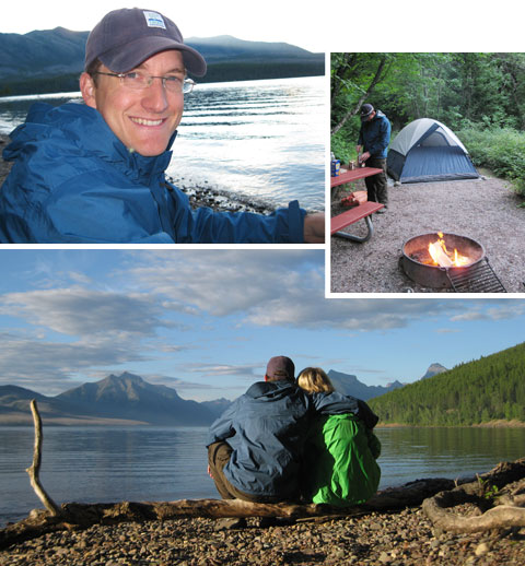 Glacier National Park – Camping (design finch)