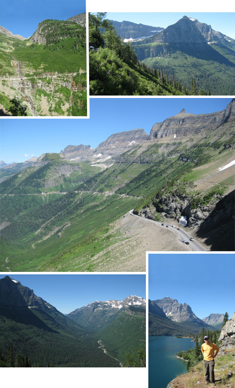 Glacier National Park – Road to the Sun (design finch)