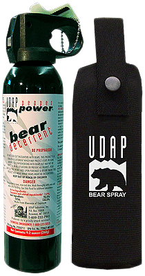 Mountain Must Haves: Bear Spray