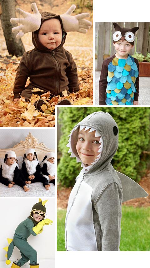 30 Easy Homemade DIY Halloween Costumes for Kids