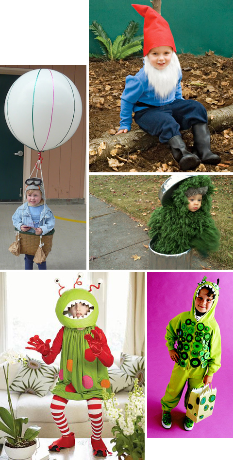 30 Easy Homemade DIY Halloween Costumes for Kids