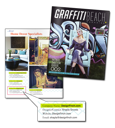 Graffiti Beach – Fall 2012 Issue
