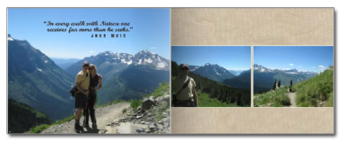 Montana Photo Album – Glacier Spread