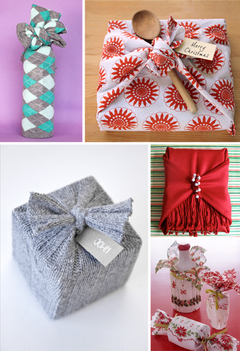 Fabric Alternatives to Gift Wrap
