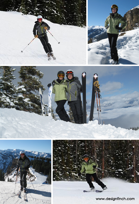 Skiing in the Roaring Fork Valley