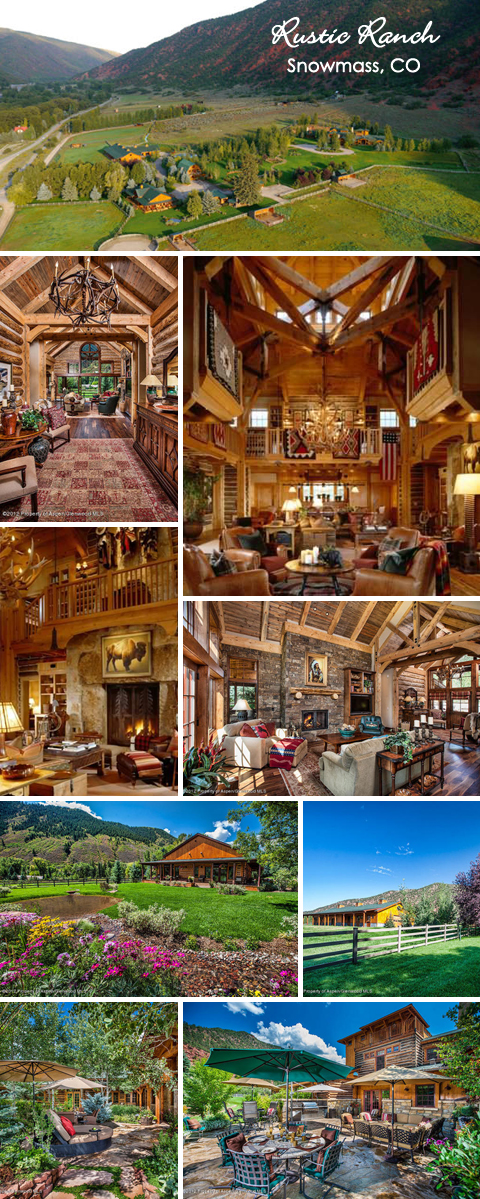 Rustic Ranch – Snowmass, CO