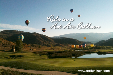 Celebrate Earth Day: Ride in a Hot Air Balloon
