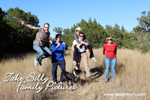 Celebrate Earth Day: Take Silly Family Photos