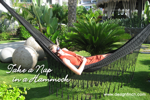 Celebrate Earth Day: Take a Nap in a Hammock
