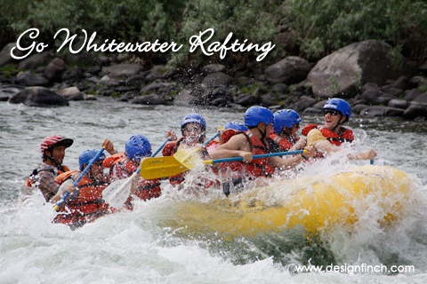 Celebrate Earth Day: Go Whitewater Rafting