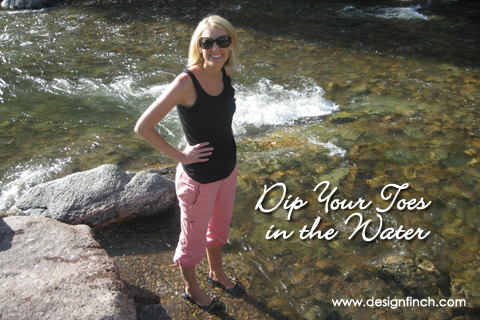 Celebrate Earth Day: Dip Your Toes in the Water