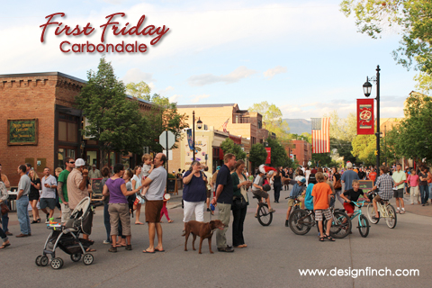 First Friday in Carbondale