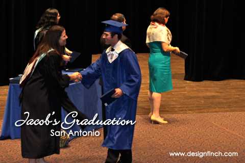 Jacob's Graduation – San Antonio, TX