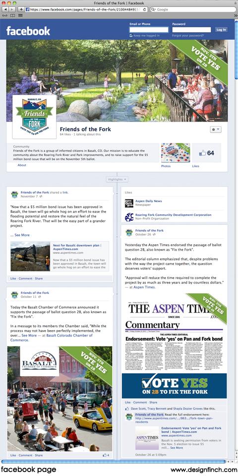 design finch   Social Media for Friends of the Fork