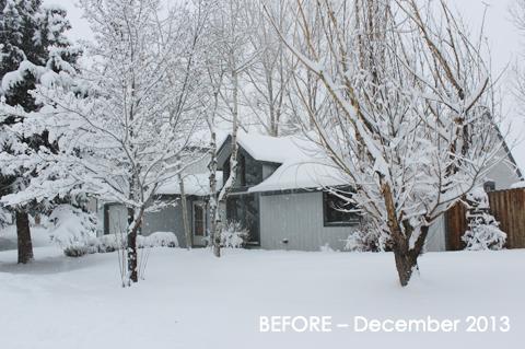 Before Exterior –December