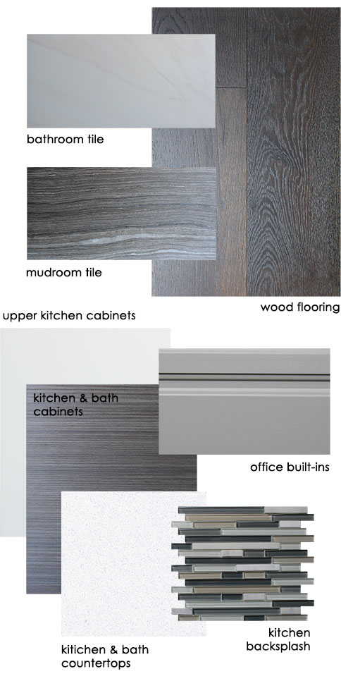 Home Remodel – Interior Finishes Color Palette