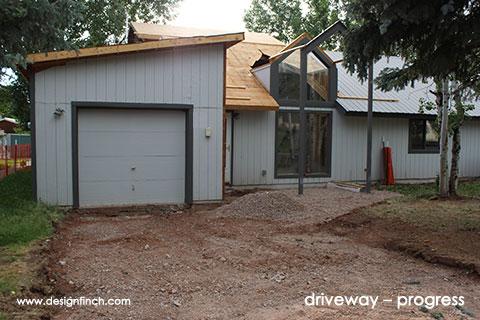 Home Remodel – Driveway Progress