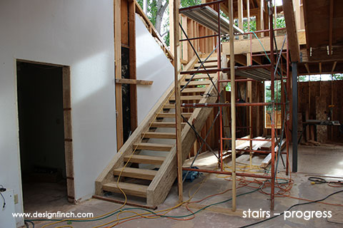 Home Remodel – Stair Progress