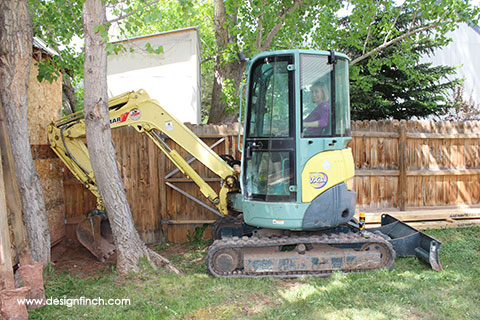 Home Remodel – Excavator