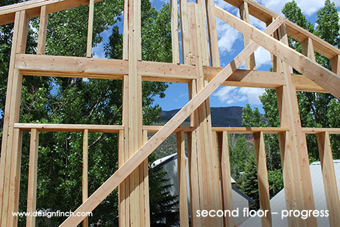 Home Remodel – Second Floor Framing