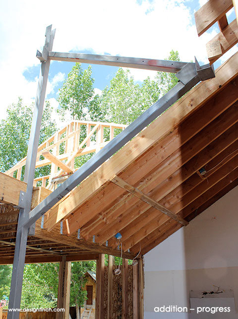 Home Remodel – Steel Beam