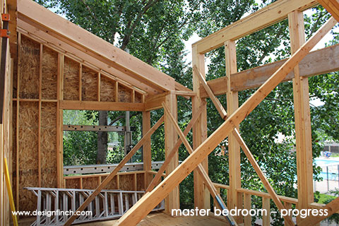 Home Remodel – Master Bedroom Construction Progress