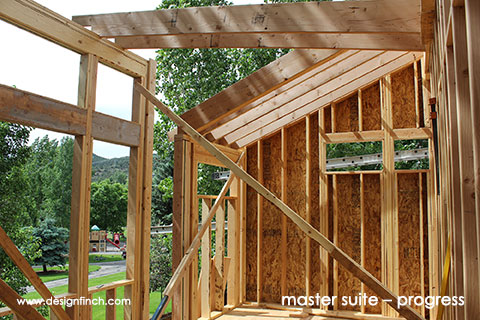 Home Remodel – Master Suite Construction Progress